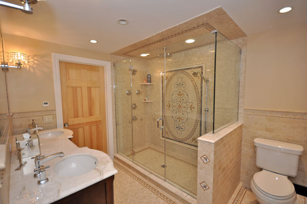 New jersey 39 s best general contractor quality craftmanship for Custom bathrooms